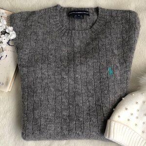 Ralph Lauren Sport Gray Sweater. Size M